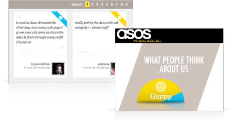 Asos social networks